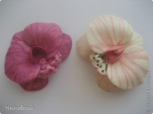 Цветы из шерсти фото 12