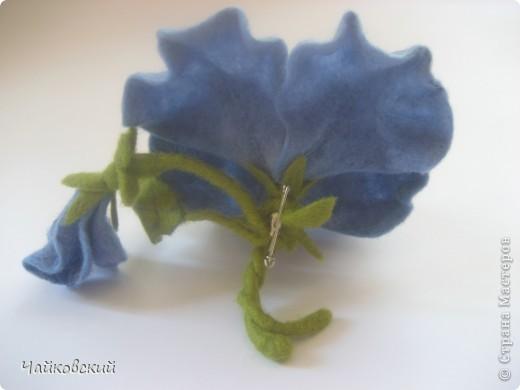 Цветы из шерсти фото 27