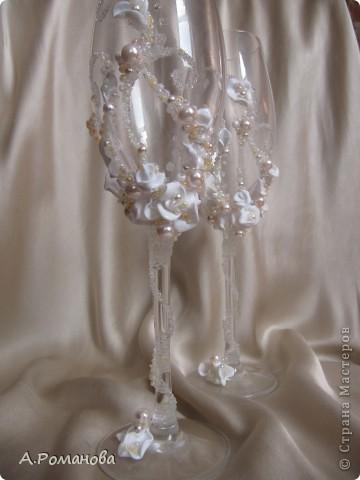 свадебные бокалы, попытка номер 2) фото 5