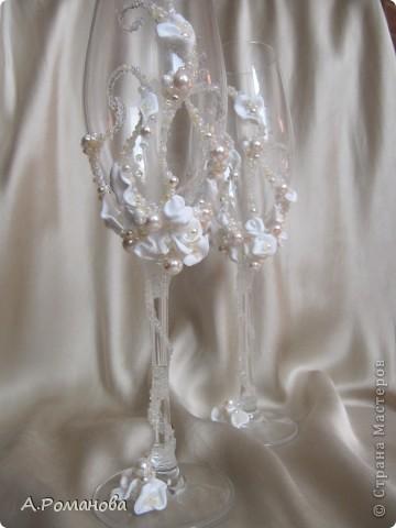 свадебные бокалы, попытка номер 2) фото 1