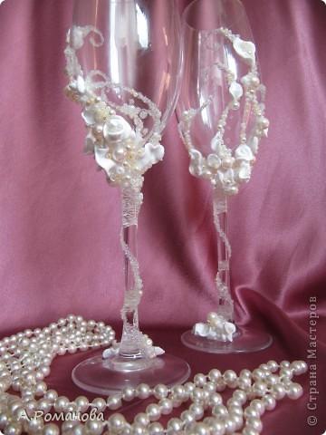 свадебные бокалы, попытка номер 2) фото 4