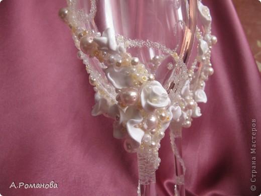 свадебные бокалы, попытка номер 2) фото 3