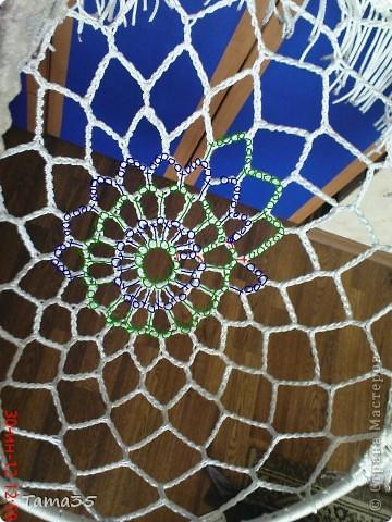 Интерьер Мастер-класс Вязание крючком Макраме Плетение мастер класс по плетению кресла часть 1 Шпагат фото 10