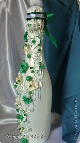 Давно хотела сделать в зеленом цвете. Вот что получилось! фото 4