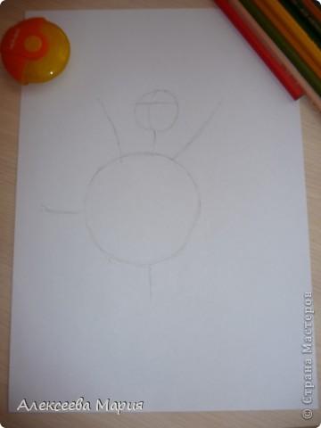 Здравствуйте! Сегодня я хочу показать, как нарисовать Глорию и мультика Мадагаскар. Как её рисовать я нашла в контакте в группе Design it! - укрась свой мир. А сегодня я сама её нарисовала)   фото 3