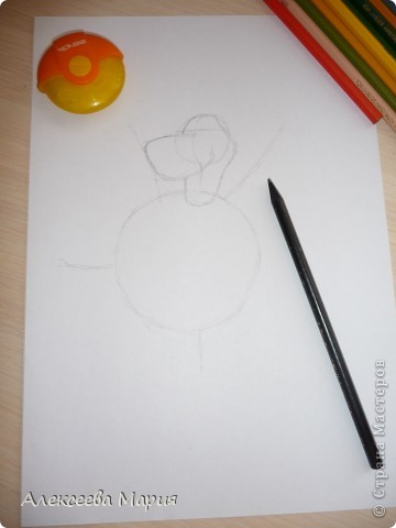 Здравствуйте! Сегодня я хочу показать, как нарисовать Глорию и мультика Мадагаскар. Как её рисовать я нашла в контакте в группе Design it! - укрась свой мир. А сегодня я сама её нарисовала)   фото 4