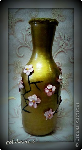 Вазочка с цветочками Сакуры. фото 1