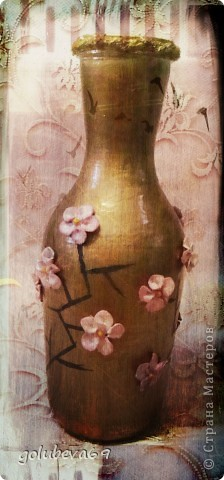 Вазочка с цветочками Сакуры. фото 3