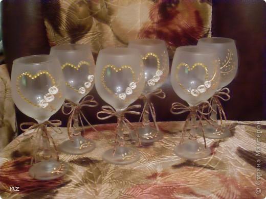Завтра у невестки и деверя трехлетняя годовщина брака и на подарок они просили бокалы, но с намеком на торжество. фото 2