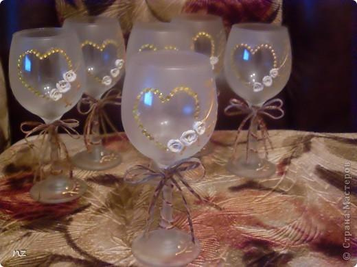 Завтра у невестки и деверя трехлетняя годовщина брака и на подарок они просили бокалы, но с намеком на торжество. фото 3