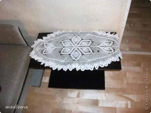 скатерть на круглый столик фото 2