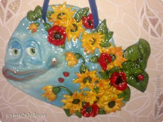 Цветочная рыбка фото 1