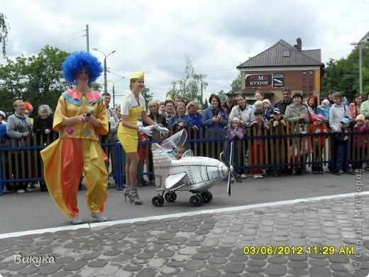 "На параде колясок мы участвовали в номинации ""Сказка"" название ""Золотая рыбка"" фото 14"