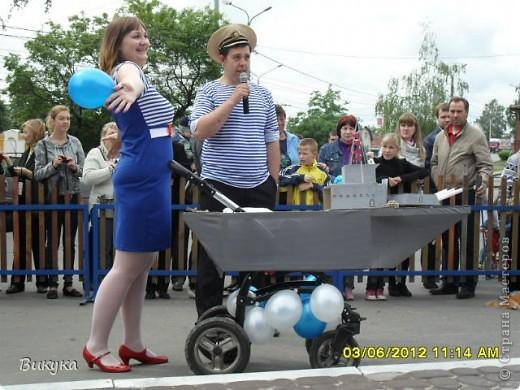 "На параде колясок мы участвовали в номинации ""Сказка"" название ""Золотая рыбка"" фото 8"
