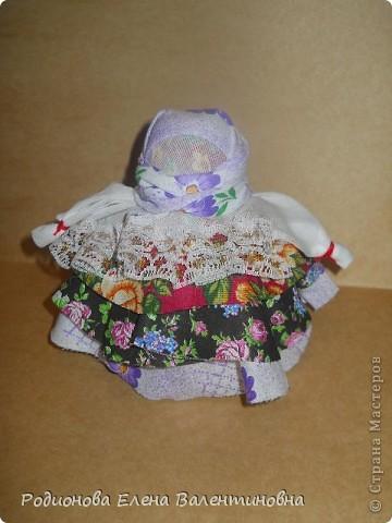 """Это кукла """"Девка  - Баба"""". Кукла готовила девочку к взрослой жизни, показывая, что не всегда жизнь будет беспечной. Кукла Девка - Баба представляет собой куклу - перевертыш. (Сторона """"Девка"""") фото 5"""