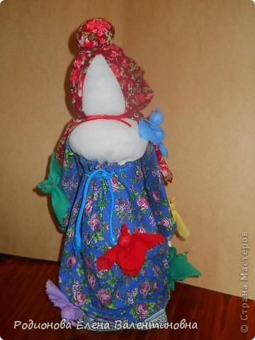 """Это кукла """"Девка  - Баба"""". Кукла готовила девочку к взрослой жизни, показывая, что не всегда жизнь будет беспечной. Кукла Девка - Баба представляет собой куклу - перевертыш. (Сторона """"Девка"""") фото 6"""