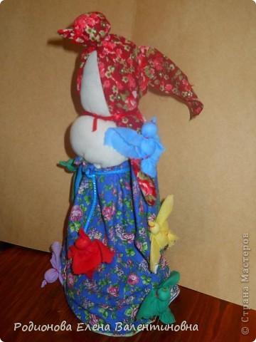 """Это кукла """"Девка  - Баба"""". Кукла готовила девочку к взрослой жизни, показывая, что не всегда жизнь будет беспечной. Кукла Девка - Баба представляет собой куклу - перевертыш. (Сторона """"Девка"""") фото 7"""
