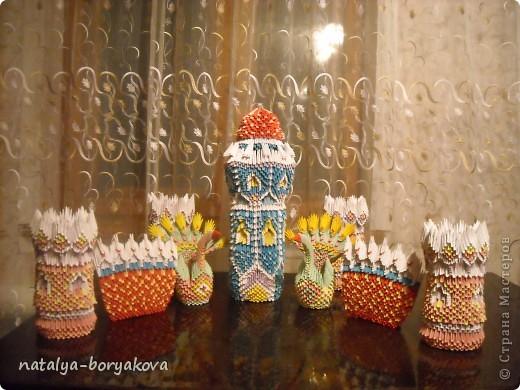 Ну а это наш замок, выполненный по книге Т. Просняковой.  фото 1