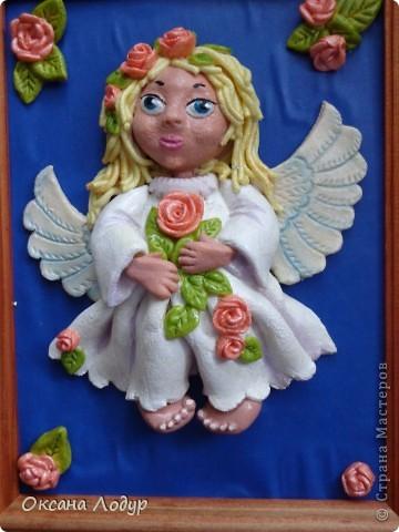 Ангел с розами!