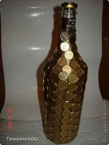 Своими руками вазы из бутылок стеклянных своими руками фото