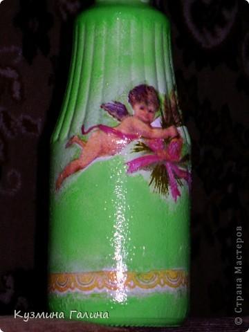 Родилась у меня вот такая бутылочка для святой воды в подарок своей подруге фото 7