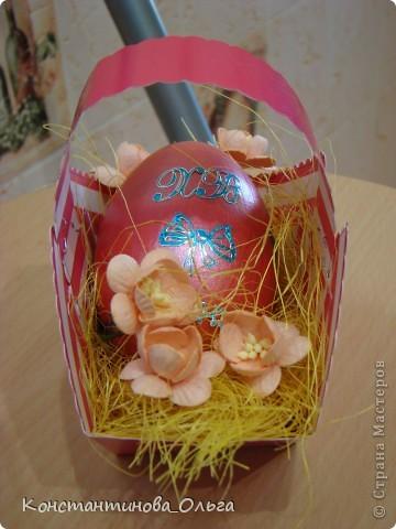 Вместе с сыном делали вот такие простые сувениры к Пасхе.  фото 4