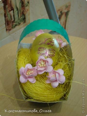 Вместе с сыном делали вот такие простые сувениры к Пасхе.  фото 6
