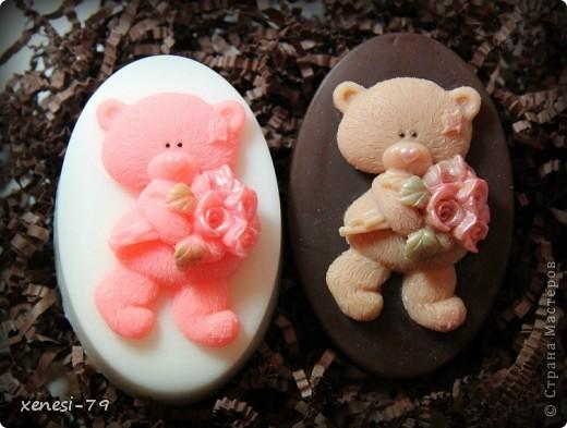 Мыльные мишки фото 2