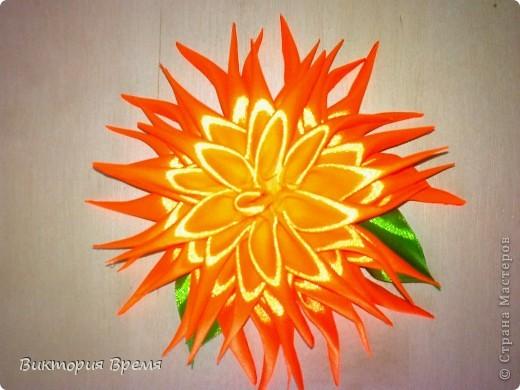 цветы канзаши фото 2