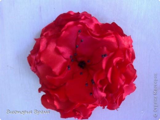 цветы канзаши фото 7