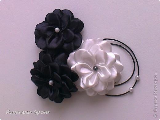 цветы канзаши фото 6