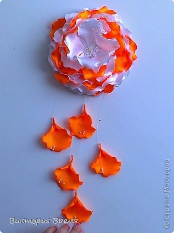 цветы канзаши фото 1