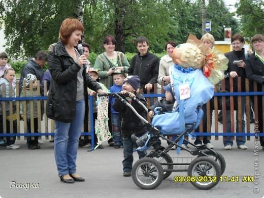 "На параде колясок мы участвовали в номинации ""Сказка"" название ""Золотая рыбка"" фото 1"
