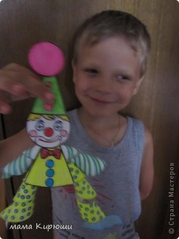 Вот такого клоуна мы сделали с племянником.  фото 2