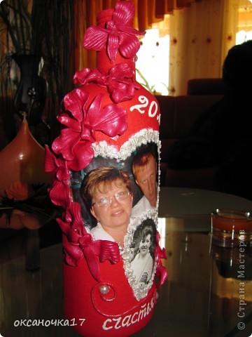 вот такой подарочек сделала нашим друзьям на их 20 летнюю годовщину.у них была свадьба через неделю после нашей и он у нас был сведетелем на свадьбе.вот едим в гости к себе на родину и за одно отвезем им подарочек. фото 2