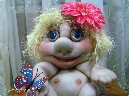 Попробовала повторить куклу Pawy - Елены Лаврентьевой, и вот что получилось фото 2