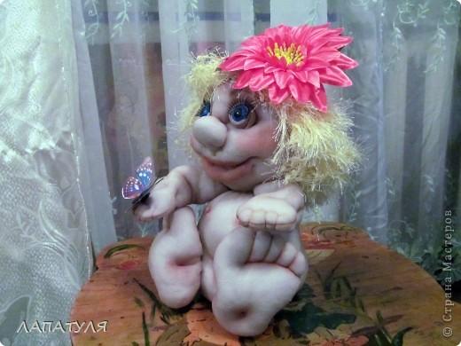 Попробовала повторить куклу Pawy - Елены Лаврентьевой, и вот что получилось фото 3