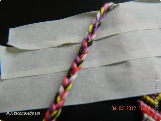 Мы  плетём  вот  такую  фенечку!!! фото 12
