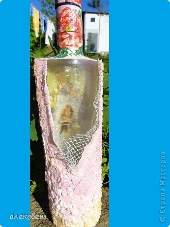 Здраствуйте мастера и мастерицы! Вот очередные бутылочки. фото 5