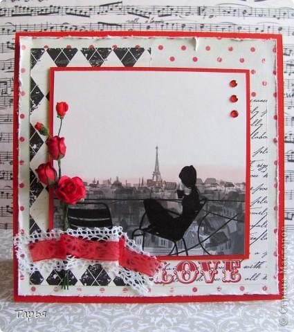 Есть у меня одна небольшая мечта.. Побывать в Париже. И почему-то этот город у меня с красным цветом ассоциируется.. Даже картинка перед глазами стоит, как я прилетела в Париж и спускаюсь по трапу самолета в широкой красной юбке в пол. :) фото 1