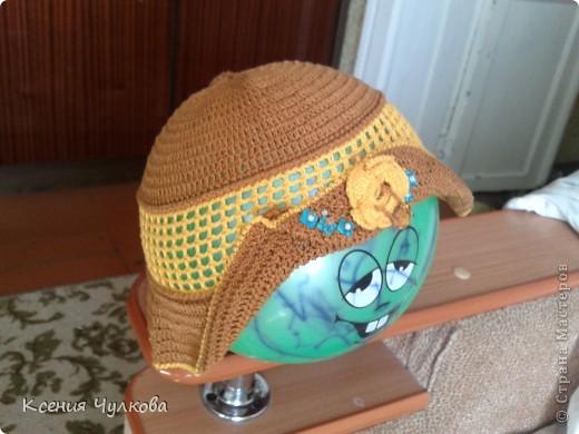 Такую красивую шапочку связала моя родная сестренка, которая и привела меня в страну мастеров, нашу мастерицу зовут Марухина Ольга. Спасибо сестренка за подарок, ее носит уже вторая моя доча. фото 1
