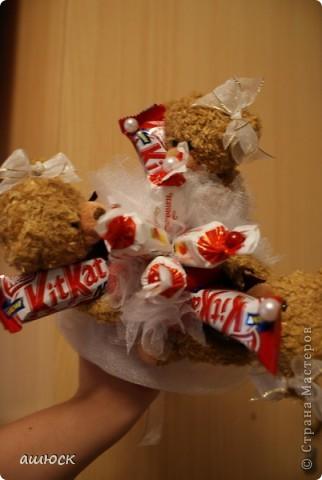 так называемый букетик для бросания  Первый опыт букета из игрушек)) фото 2