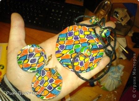 Перед летом решила создать немного ярких украшений. фото 4