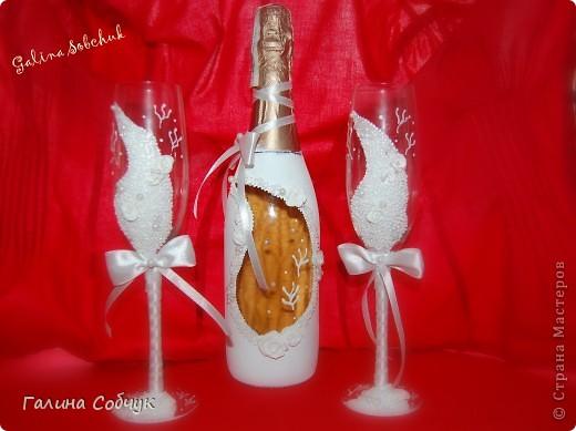 Свадебные бокалы фото 9