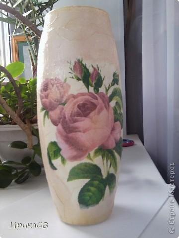 Первая работа с вазами, буду рада отзывам и предложениям, ну и критике, конечно) фото 3