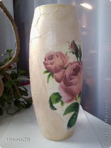 Первая работа с вазами, буду рада отзывам и предложениям, ну и критике, конечно) фото 1