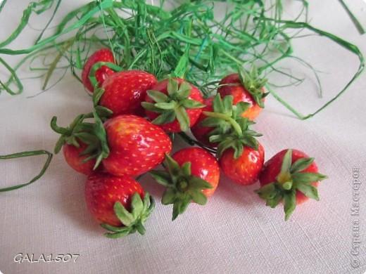 Мастер-класс Лепка Выращиваем соленые ягодки МК Тесто соленое фото 20