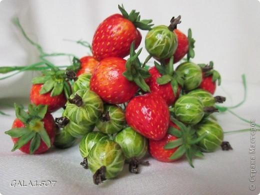 Мастер-класс Лепка Выращиваем соленые ягодки МК Тесто соленое фото 40