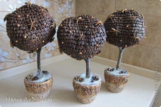 Все три деревца хотелось сделать одинаковыми, так как  это подарки воспитателям и заведующей  на память об окончании детского сада. Вот, что из этого вышло... фото 5
