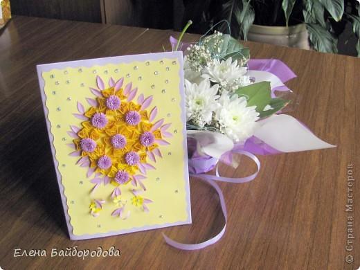В июне побывала на двух днях рождения. Делала открытки и подарочки. Фотографировала после того, как подарила. Это открытка племяшке на 11 лет фото 7
